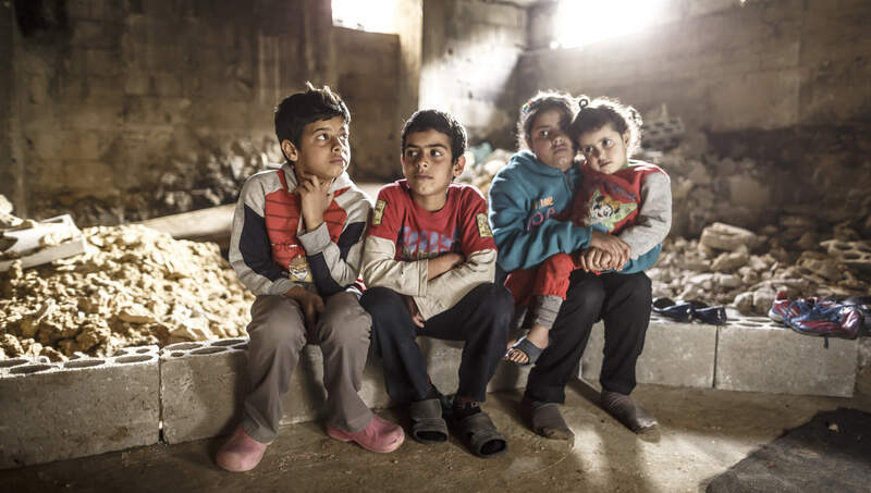 Help for syrian refugee children
