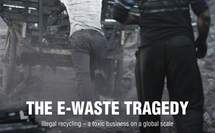 Poster zum Film E-Waste Tragedy