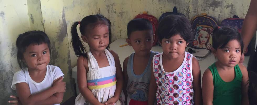 Daycare center in Guiuan (Foto: Kindernothilfe)