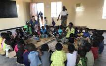 Projektbesuch in Malawi (Foto: Kindernothilfe Luxembourg)